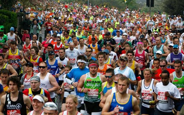 London marathon runs through Charlton