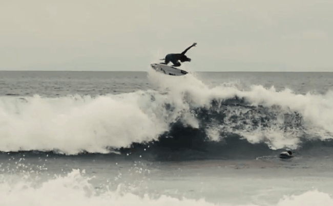 top locals surfing in Costa Rica