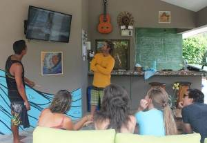 video review at School of the World surf camp