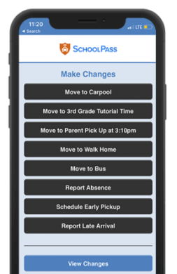 School Dismissal App for Parents