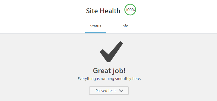 WordPress Site Health