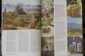 Schoone Oordt featured in August issue of Food&Home Entertaining South Africa
