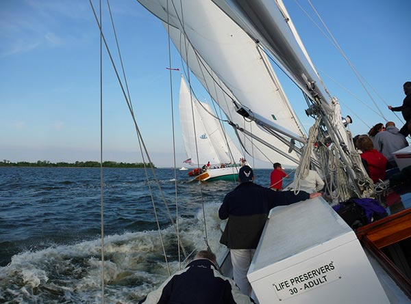 Wednesday Night Sail Race Series On The Schooner Woodwind