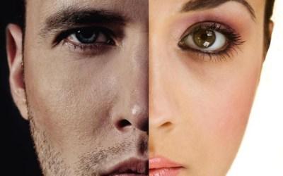 De mannenhuid versus de vrouwenhuid