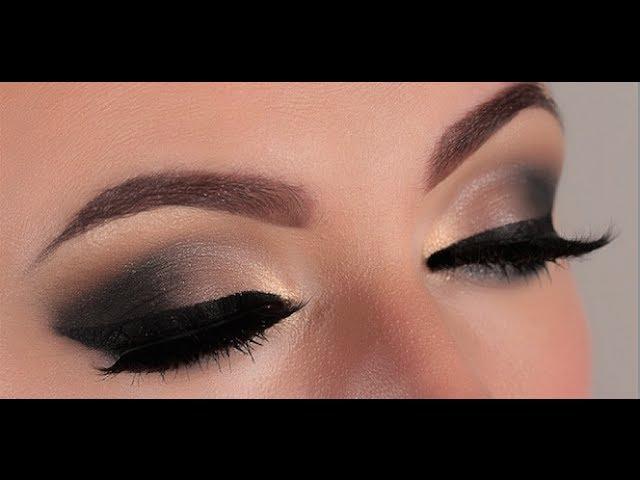 How To Do Rose Smokey Eyes Makeup