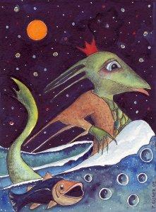 Nix als Nachtfürst, gezeichnet von Petra Elsner