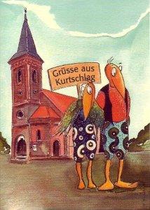 Dorfkarte  Zeichnung: Petra Elsner