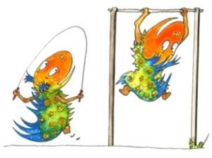 DINO 3:  Zeichnung: Petra Elsner