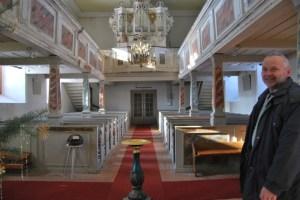 Peter Harbach in der Immanuel Kirche. Foto: Lutz Reinhardt