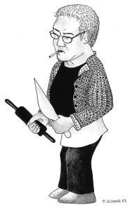 Kochkünstler Zeichnung: Petra Elsner