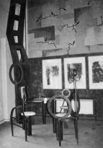 Die Kunststühle im Silberstein  Foto: Petra Elsner