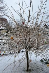 Der Schnee vom Tage: 31. März 2015 Foto: pe