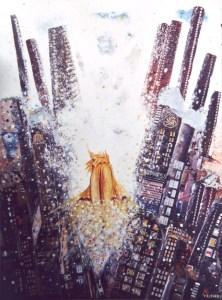 Himmel über der Stadt von Petra Elsner