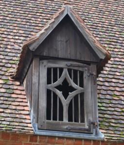 Fenster zum Darrborden.  Foto: Lutz Reinhardt