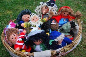 Karins Puppenspielkorb. Foto: lr