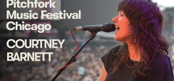 Courtney Barnett live beim Pitchfork Music Festival 2018 in Chicago