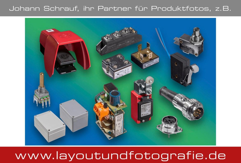Produktfotografie elektronische Produkte Katalogaufnahmen