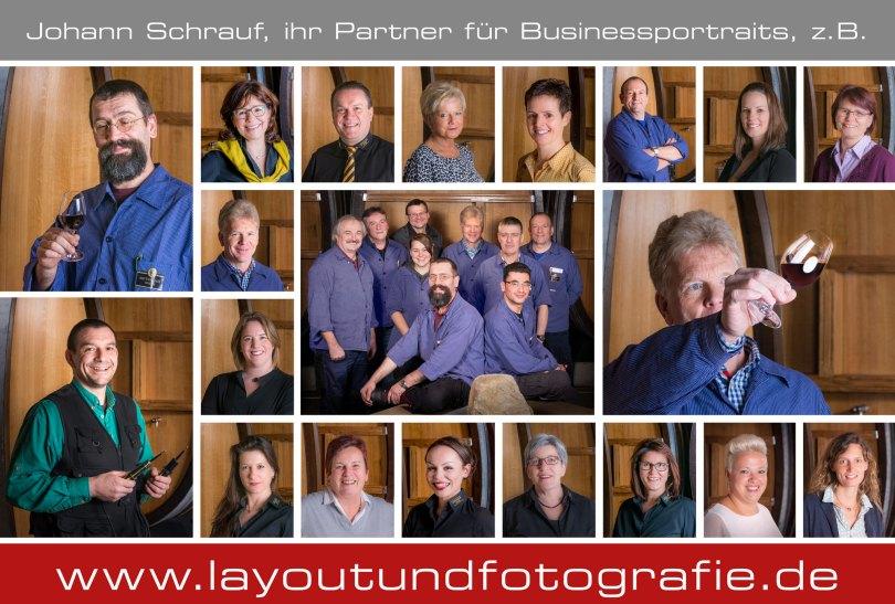 professionelle Mitarbeiterfotos