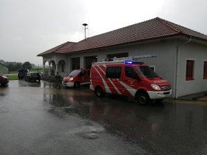 Einsatz der Feuerwehr Schreibersdorf
