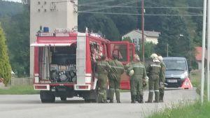Uebung Freiwillige Feuerwehr
