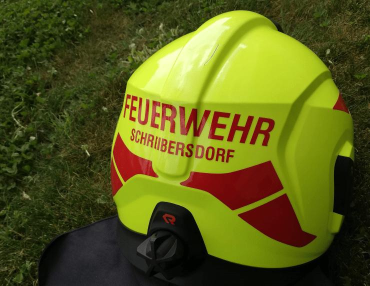 Feuerwehrhelm Schreibersdorf