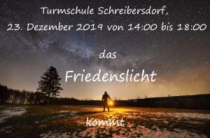 Friedenslicht @ Turmschule