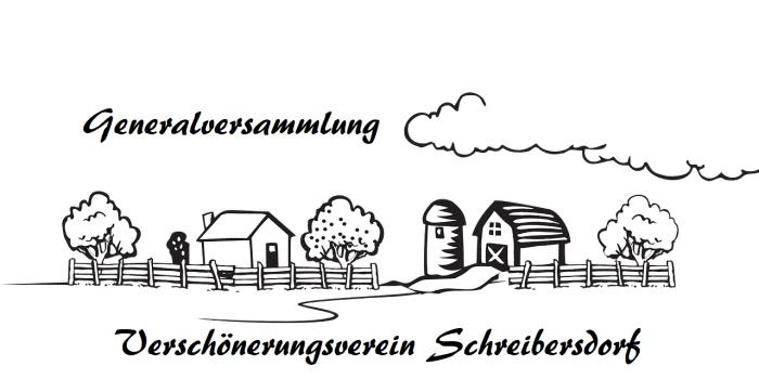 Generalversammlung Verschönerungsverein Schreibersdorf