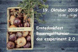 Erntedankfest, Bauerngolfturnier, das essperiment 2.0 @ DIE-PHARM | Schreibersdorf | Burgenland | Österreich