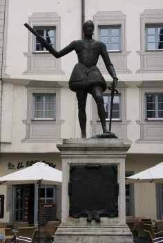 Satute von Don Juan d'Austria in Regensburg