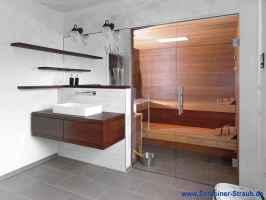 Einbausauna im Bad   Schreiner Straub