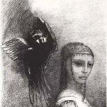 Odilon Redon: La Tentation de Saint Antoine plate III