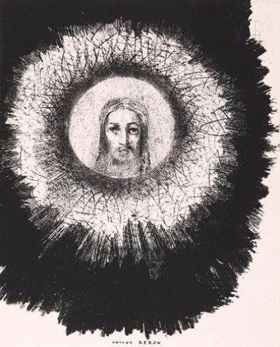 Odilon Redon: La Tentation de Saint Antoine plate X