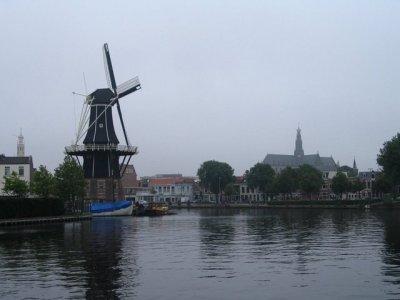 De Molen de Adriaan te Haarlem