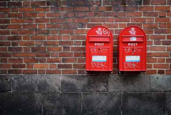 e-mail schrijven