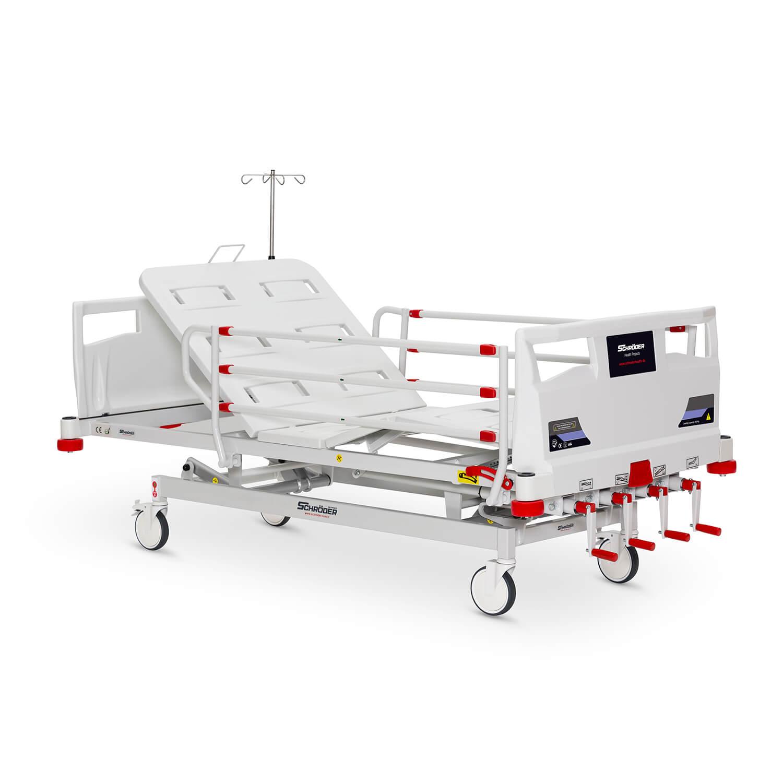 Mechanical Hospital Bed, 4 Cranks