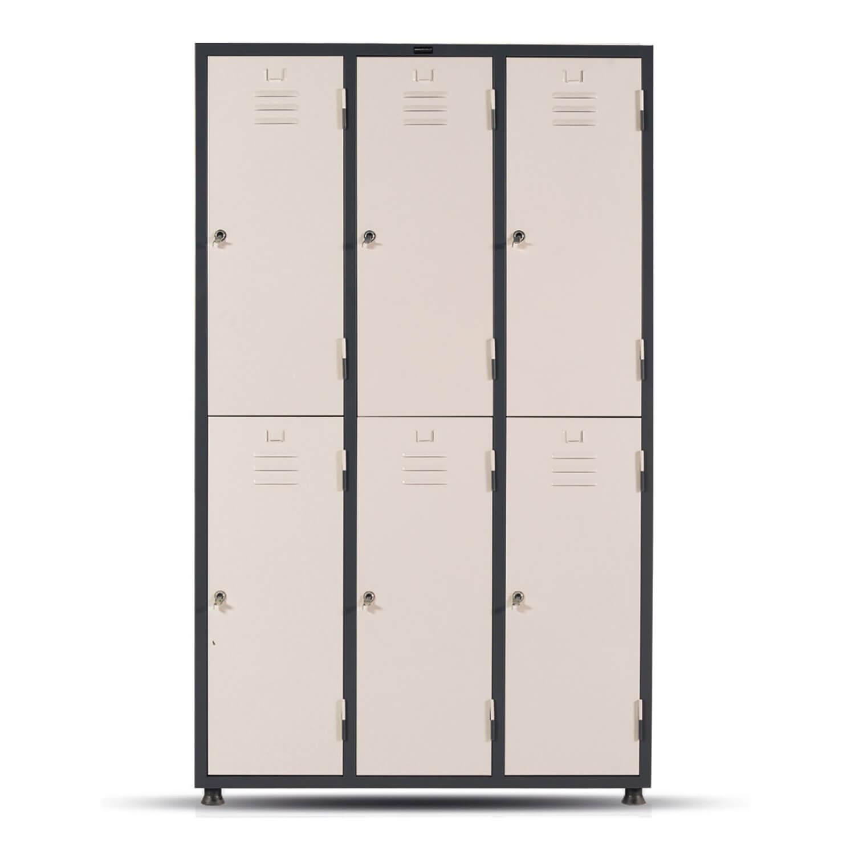 Steel Patient Locker, Sextette