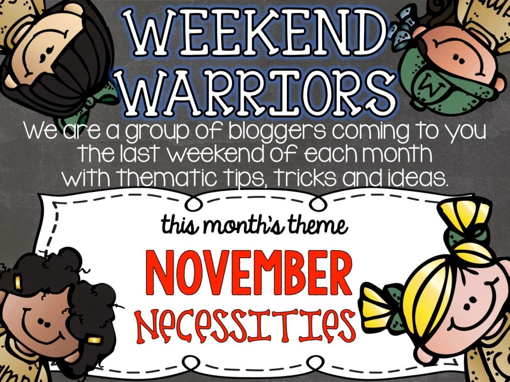 Weekend Warriors Necessity – MY WEEKLY CHECKLIST!