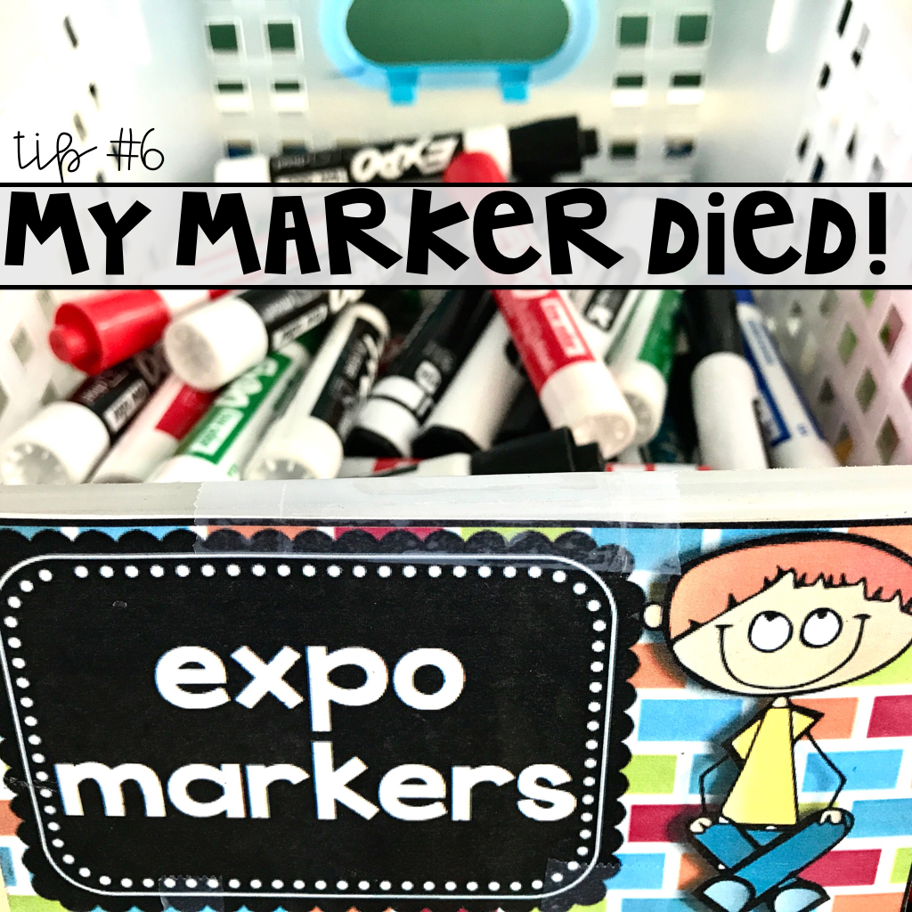 tips for using dry erase boards and white boards and expo markers in your classroom with dry erase board routines, rules, and expectations