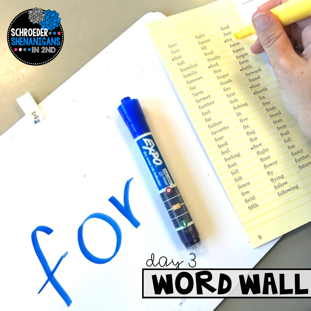 dry erase expo sight word routines, sight word lessons, and sight word activities