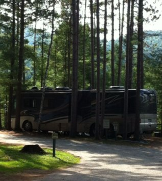 schroon rv site
