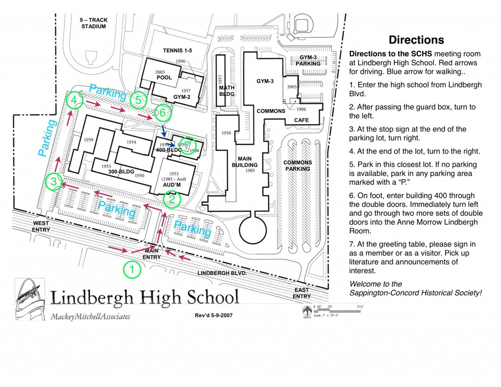 Directions To Lindbergh High School