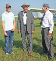 Lester Lurk as Will Rogers and Joe Bacon as Wiley Post Photo from: http://www.stegenherald.com/community/article_4a0be678-22c7-5caa-a157-00306f1f96b9.html