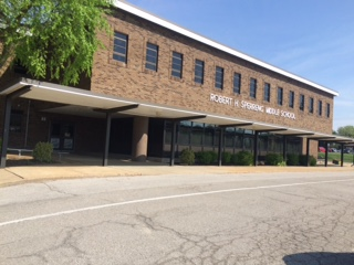 Sperreng Middle School front side