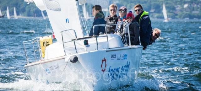 Team 8 auch bei der Aalregatta mit dabei