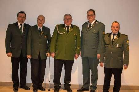 Vorstand der historischen Schützengemeinschaft Waldecl