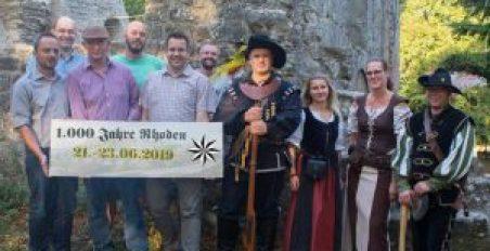 Jubiläum 2019 - Landsknechte, Ortsbeirat und Vorstand der Schützengesellschaft