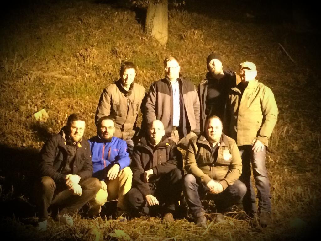 Gruppenfoto der Sappeure