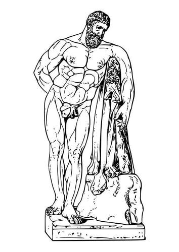 Malvorlage  Hercules