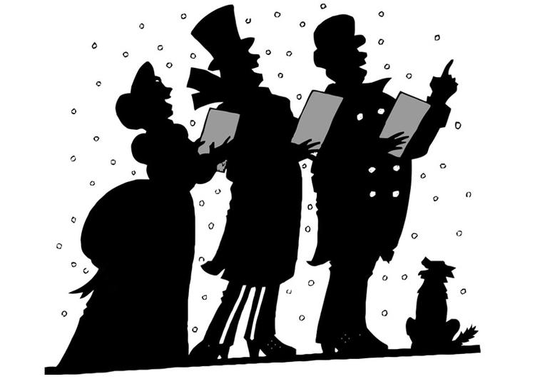 Malvorlage Weihnachtslied Ausmalbild 20378