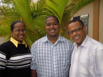 Miguelina, Juan Carlos and Gustavo (2012)